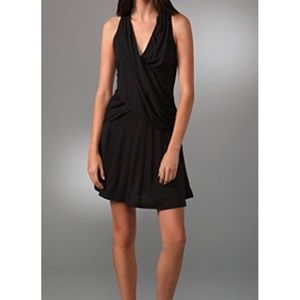 Oonagh Nanette Lepore Jacques Draped Racerback LBD